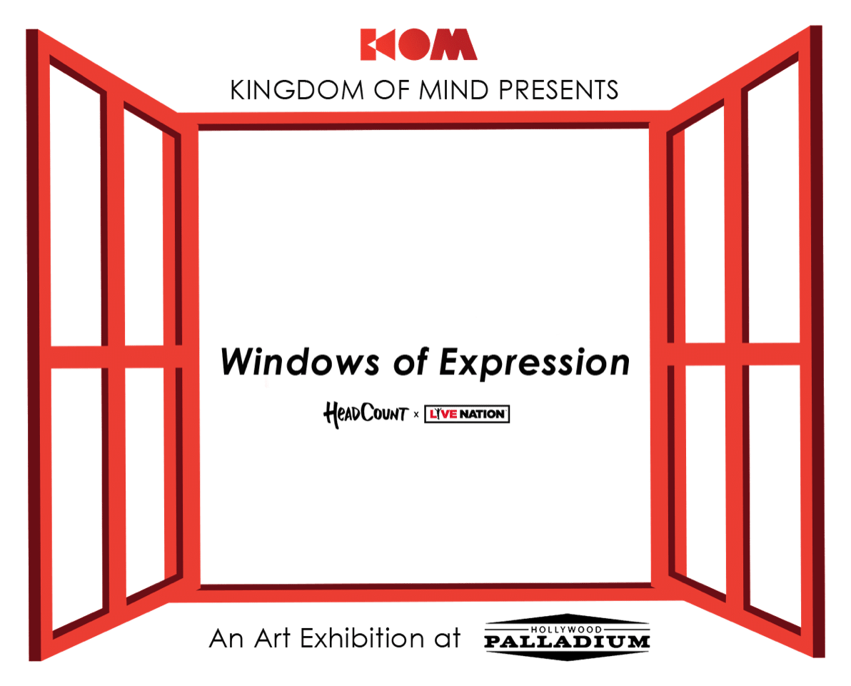Windows of Expression: An Art Exhibition at the Hollywood Palladium